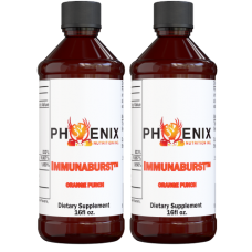 IMMUNABURST™ - 2 - 16oz Bottles - Orange Punch